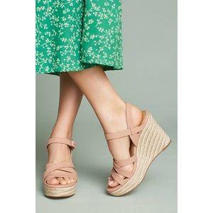 6105505955a ANTHRO Splendid Billie Espadrille Wedge Sandals NWT
